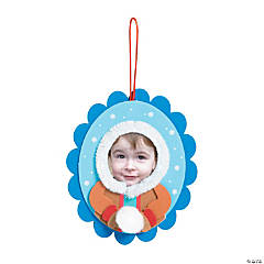 Eskimo Kid Picture Frame Ornament Craft Kit