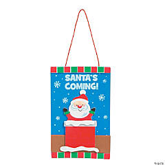 Santa's Coming Sign Craft Kit