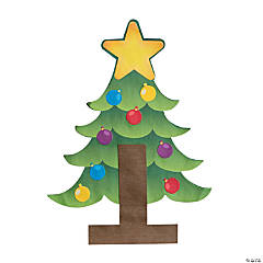 T Is For Tree Christmas Craft Kit