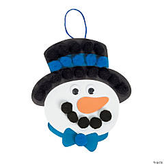 Snowman Christmas Countdown Sign Craft Kit