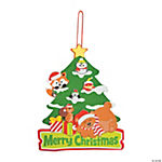 Critter's Christmas Tree Sign Craft Kit