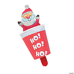 Santa in Chimney Pop-Up Christmas Craft Kit