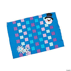 Winter Weaving Placemat Craft Kit