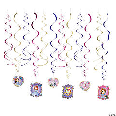 Sofia the First Swirl Decorations Value Pack