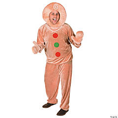 Adult's Extra Large Gingerbread Costume