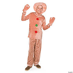 Child's Gingerbread Costume