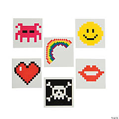Pixel Character Tattoos