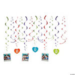 One Direction Swirl Decorations