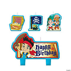 Wax Jake & the Neverland Pirates Birthday Candles