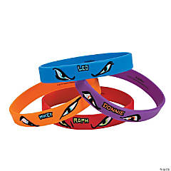 Rubber Teenage Mutant Ninja Turtles Bracelets