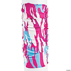 Pink Camouflage Headwear Scarf