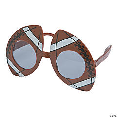 Football-Shaped Sunglasses