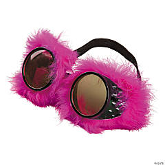 Pink Furry Goggles
