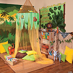 Jungle Reading Corner Idea