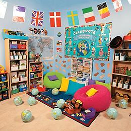 Classroom decorations oriental trading company for International home decor stores