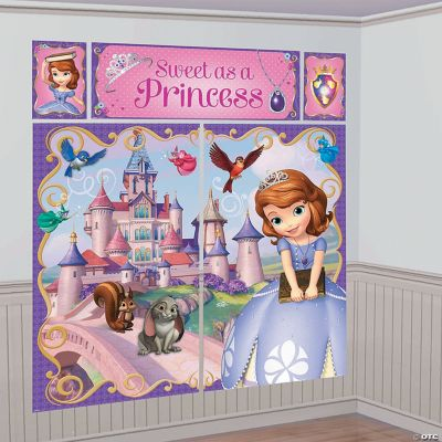 Disney's Sofia the First Giant Scene Setter Wall Decorating Kit