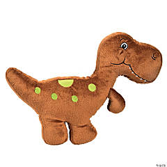 That's How We Rawr Snugglesaurus Brown Plush Dinosaur - T-Rex