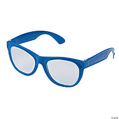 Blue Clear Lens Glasses