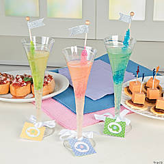 Baby Shower Drink Tags Idea