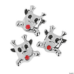 Reindeer Large Hole Beads - 15mm