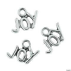 Silvertone Joy Charms - 9mm