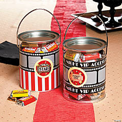 Movie Night Favor Containers Idea