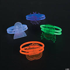Glow Halloween Character Bracelet Assortment