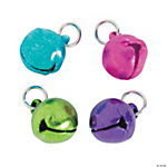 Colorful Jingle Bell Charms - 9mm