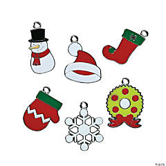 Christmas Enamel Charm Assortment