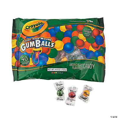 Crayola® Color Your Mouth Gumballs
