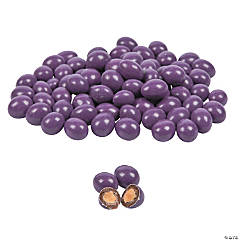 Dark Purple Chocolate-Covered Almonds