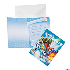 Skylanders Invitations/Thank You Postcards