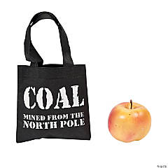 Mini Coal Christmas Totes