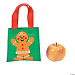 Mini Gingerbread Christmas Totes