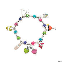 Bright Girlfriend Charm Bracelet Idea