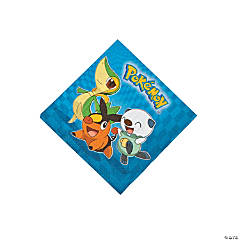 Pokémon™ Birthday Beverage Napkins