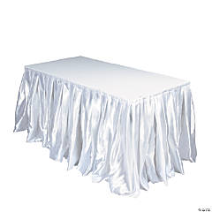 White Table Cover Collection