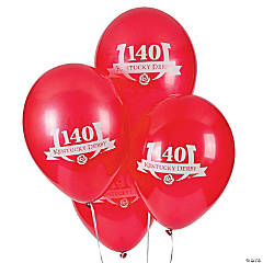 Kentucky Derby 140 Latex Balloons