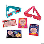 3D Glasses with Valentine Cards