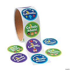 Catholic Schools Week Roll of Stickers