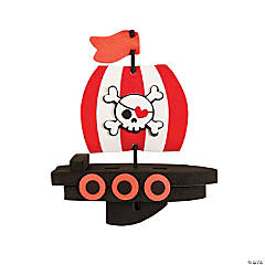 Valentine Pirate Ship Craft Kit