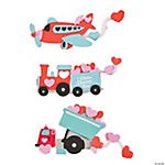 Valentine Transportation Magnet Craft Kit