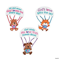 God's Love From Above Magnet Craft Kit