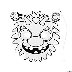 Color Your Own Monster Masks