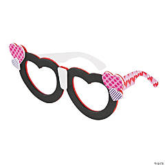 Nerdy Valentine Glasses Craft Kit