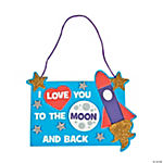 Love You To The Moon Sign Craft Kit