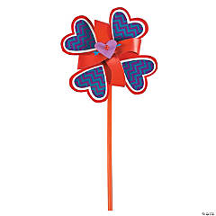 Valentine Pinwheel Craft Kit
