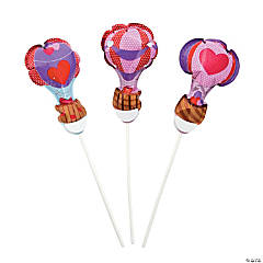 Valentine Hot Air Balloons Self-Inflating Balloons