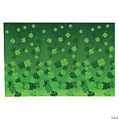 Irish Clover Backdrop Banner
