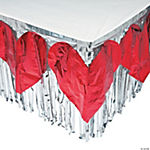 Heart Table Skirt